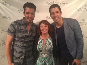 Rene with Property Brothers